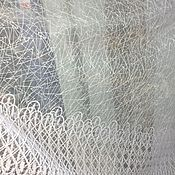 Для дома и интерьера handmade. Livemaster - original item Sale Tulle (ready) white W 5 m In 250 s. Handmade.