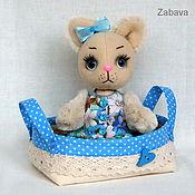 Куклы и игрушки ручной работы. Ярмарка Мастеров - ручная работа Кошечка Мурра. Handmade.