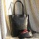 Женские сумки ручной работы. Ярмарка Мастеров - ручная работа. Купить стильная сумка из редкой кожи. Handmade. Унисекс, для женщины