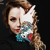 Украшения handmade. Livemaster - original item Epaulette bracelet