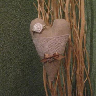 Куклы и игрушки ручной работы. Ярмарка Мастеров - ручная работа Лавандовое сердечко. Handmade.