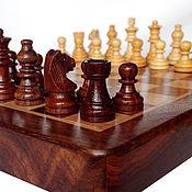 Куклы и игрушки handmade. Livemaster - original item Chess Classic, 18x18 cm., wooden,magnetic. Handmade.