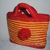 Работы для детей, ручной работы. Ярмарка Мастеров - ручная работа Детская летняя сумочка. Handmade.