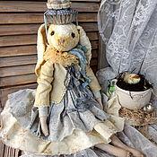 Куклы и игрушки handmade. Livemaster - original item Teddy $: Bunny Cupcake. Handmade.