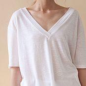 Одежда handmade. Livemaster - original item Summer Minimalism t-shirt. Handmade.