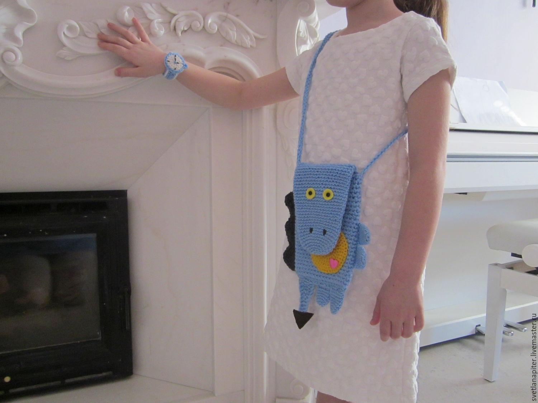 схема вышивки детской сумочки