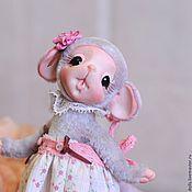 Куклы и игрушки ручной работы. Ярмарка Мастеров - ручная работа мышка Агата. Handmade.