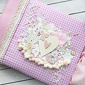 Канцелярские товары handmade. Livemaster - original item Album for girls!. Handmade.