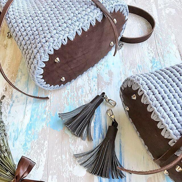 дно для вязаной сумки