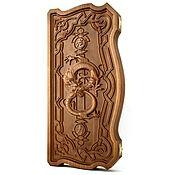 """Активный отдых и развлечения handmade. Livemaster - original item Backgammon """"dragon"""". Handmade."""