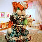 Мягкие игрушки ручной работы. Ярмарка Мастеров - ручная работа Вязанная крючком мягкая игрушка ручной работы Котауси и Мауси. Handmade.