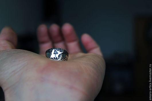 Кольца ручной работы. Ярмарка Мастеров - ручная работа. Купить кольцо Лис. Handmade. Серебряный, животное, лесная тема