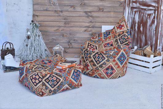 """Мебель ручной работы. Ярмарка Мастеров - ручная работа. Купить Кресло """"Капля"""" из гобелена Келим. Handmade. Комбинированный, кресло-мешок"""