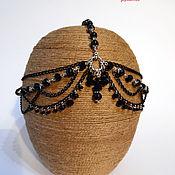 Диадемы ручной работы. Ярмарка Мастеров - ручная работа Тика - украшение на голову. Handmade.