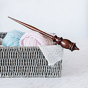 Материалы для творчества handmade. Livemaster - original item Wooden support spindle made of Siberian cedar wood B65. Handmade.
