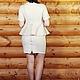 """Платья ручной работы. Комплект тройка """"Молочный флис"""". OLGA'Z. Ярмарка Мастеров. Блуза, кружева"""