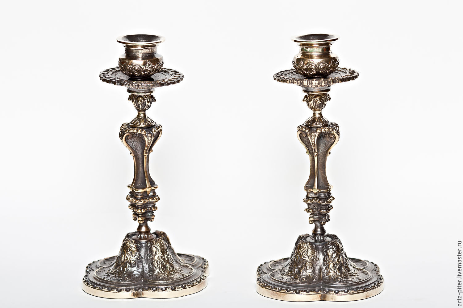 Candle Holder Bronze, Candlesticks, St. Petersburg,  Фото №1