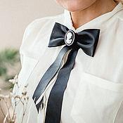 Украшения handmade. Livemaster - original item Leather bow tie. Fashion accessory made of leather.. Handmade.