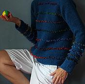 Одежда ручной работы. Ярмарка Мастеров - ручная работа Шерстяной свитер Хулиганка. Handmade.