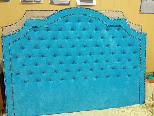 Мебель ручной работы. Ярмарка Мастеров - ручная работа. Купить Кровать Шарлотта. Handmade. Бирюзовый, интерьер, мебель на заказ