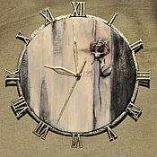"""Для дома и интерьера ручной работы. Ярмарка Мастеров - ручная работа Часы настенные  """" В круге времени """". Handmade."""