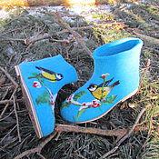 Обувь ручной работы. Ярмарка Мастеров - ручная работа Полусапожки мужские короткие. Handmade.