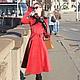 """Верхняя одежда ручной работы. Пальто """"Signorina"""", зима. Ciao, Bella!  женственная одежда. Ярмарка Мастеров. Женское пальто"""