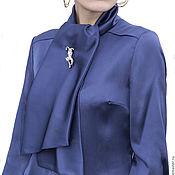 Блузки ручной работы. Ярмарка Мастеров - ручная работа Блуза шелковая. Handmade.