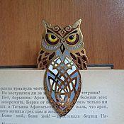 Канцелярские товары handmade. Livemaster - original item Handmade souvenir bookmark for books handmade owl. Handmade.