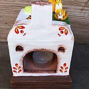 Для дома и интерьера handmade. Livemaster - original item Russian stove -lamp. Handmade.