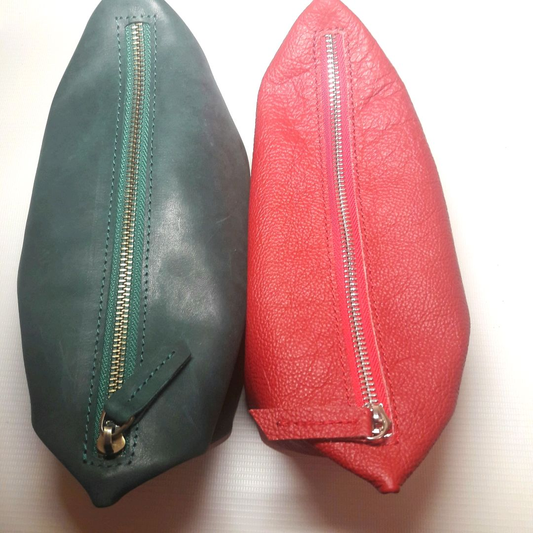 Leather cosmetic bag, Beauticians, Moscow,  Фото №1