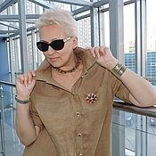 Платья ручной работы. Ярмарка Мастеров - ручная работа Платье рубашка №3 Street-Fashion. Handmade.