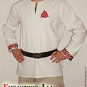 Субкультуры handmade. Livemaster - original item Shirt embroidered