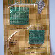 Материалы для творчества ручной работы. Ярмарка Мастеров - ручная работа Набор швейных игл, 26 шт + нитковдеватель. Handmade.