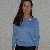 Одежда ручной работы. Ярмарка Мастеров - ручная работа Комплект -джемпер + юбка плиссе. Handmade.