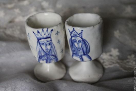 ``Принцессы`` Нежные рюмочки с росписью