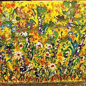 Картины и панно handmade. Livemaster - original item Floral inspiration(canvas,30х40). Handmade.