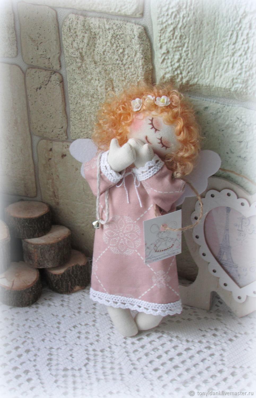 Ангелочек малютка Нежность, Куклы Тильда, Новоуральск,  Фото №1