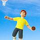 """Портретные куклы ручной работы. Ярмарка Мастеров - ручная работа. Купить Интерьерная кукла """"Баскетболист"""". Handmade. Кукла ручной работы"""