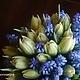 Свадебные цветы ручной работы. Букет невесты с мускари. Наталья Беловодская. Ярмарка Мастеров. Букет невесты, цветочное оформление
