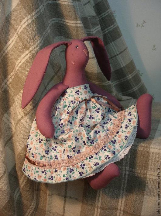 """Куклы Тильды ручной работы. Ярмарка Мастеров - ручная работа. Купить Кукла текстильная. Заяц в стиле """"Тильда"""". Елизавета.. Handmade."""