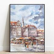 Картины и панно handmade. Livemaster - original item Rainy - sun - rainy. Tallinn/. Handmade.