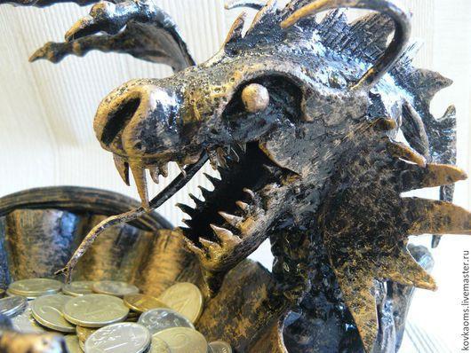 Пепельницы ручной работы. Ярмарка Мастеров - ручная работа. Купить Пепельница Кованый дракон. Handmade. Пепельница, кованый дракон