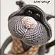 """Игрушки животные, ручной работы. Ярмарка Мастеров - ручная работа. Купить МК """"Кошачья серенада"""". Handmade. Серый"""