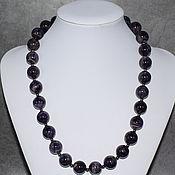 Украшения handmade. Livemaster - original item Natural Amethyst Large Beads. Handmade.