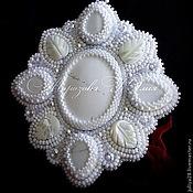 Украшения ручной работы. Ярмарка Мастеров - ручная работа Комплект украшений кулон+серьги+кольцо. Handmade.