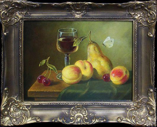 Живопись, живопись маслом, натюрморт, картина на заказ, голландский натюрморт