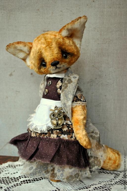 Мишки Тедди ручной работы. Ярмарка Мастеров - ручная работа. Купить Лизонька. Handmade. Рыжий, друзья мишек тедди, лис