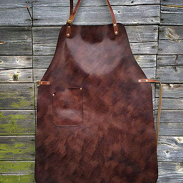 Bags and accessories handmade. Livemaster - original item Leather apron, mod.One. Handmade.