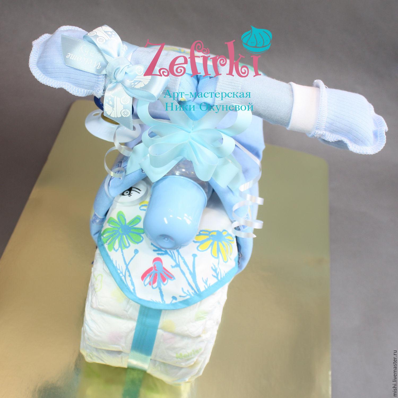 Подарки для новорожденного из памперсов своими руками